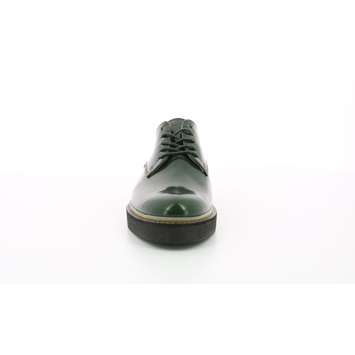 Derbies pour femme Oxfork vert sapin Chaussures femme