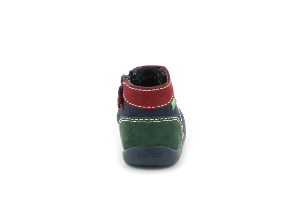 BONZIP-2 NAVY RED GREEN