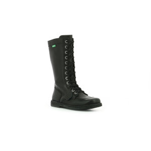 Kickers MEETKIKNEW BLACK BLACK SOLE