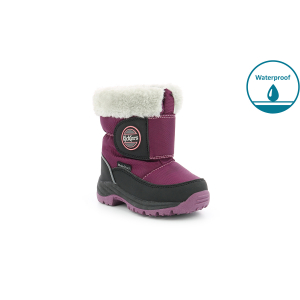 Kickers JUMPSNOW WPF BLACK PURPLE
