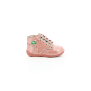 Kickers BONZIP-2 ROSE METALLISE
