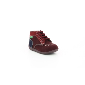 Kickers BONZIP-2 PURPLE RED NAVY