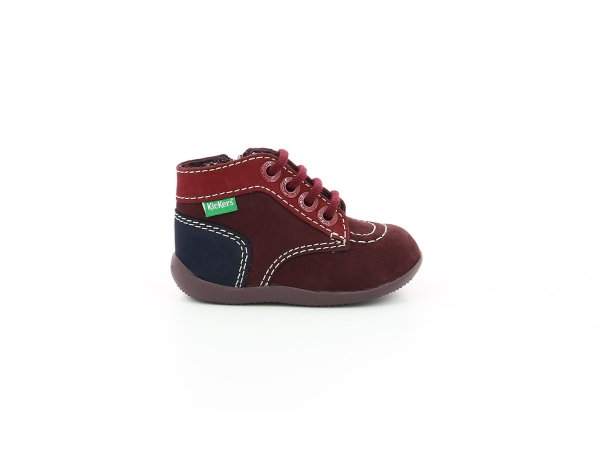 BONZIP-2 PURPLE RED NAVY