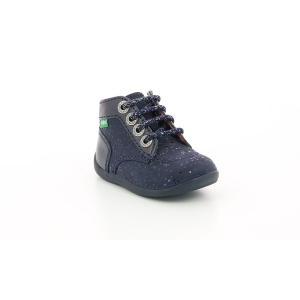 Kickers BONZIP-2 METALLIZED NAVY