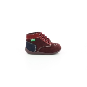 Kickers BONBON-2 PURPLE RED NAVY