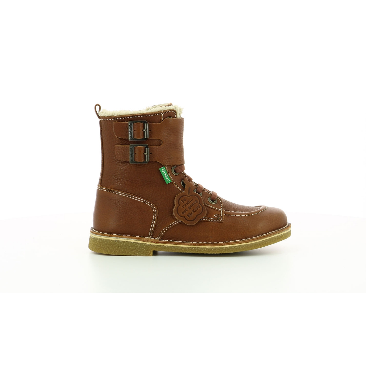 Boots Femme Meenely camel Chaussures Femme Kickers