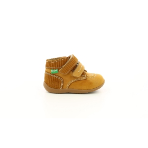 Kickers BONKRO-2 JAUNE MOUTARDE
