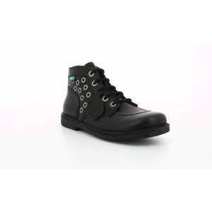 Kickers LEGENDIKNEW BLACK ROCK BLACK SOLE