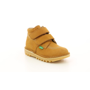 Kickers NEOVELCRO CAMEL CLAIR