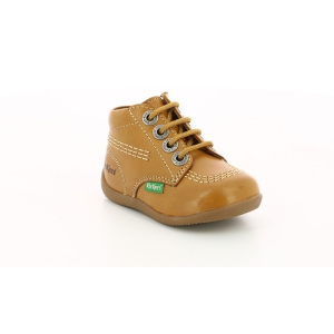 Kickers BILLYZIP-2 CAMEL CLAIR