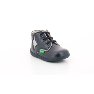 Kickers BIROCK METALLIZED NAVY