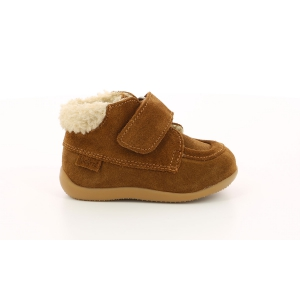 Kickers BAMBA FUR LIGHT CAMEL