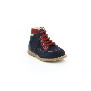 Kickers KOUKLEGEND NAVY RED GREEN