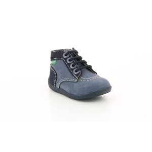 Kickers BONZIP-2 BLEU DENIM