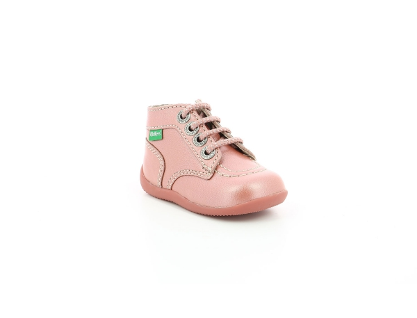 Kickers BONZIP ROSE METALLISE