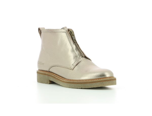 Kickers OXFORDOZIP ARGENT