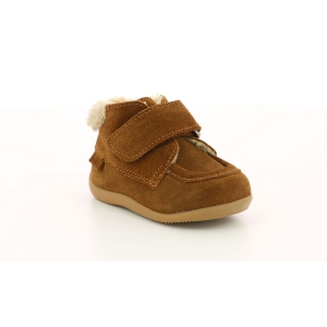 Kickers BAMBA FUR CAMEL CLAIR
