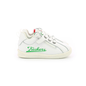 Kickers CHICAGO BB BLANC / ROUGE / VERT