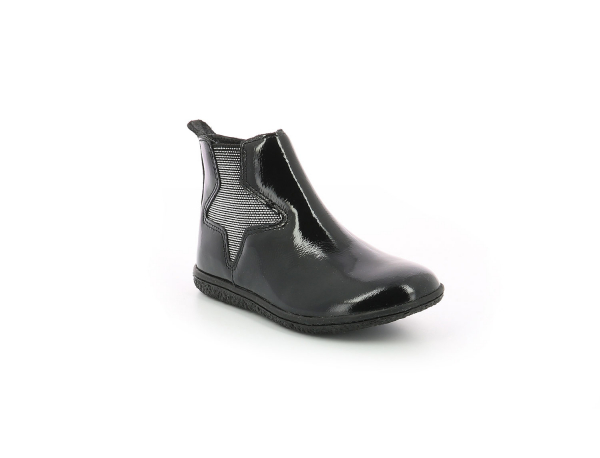 VERMILLON BLACK PATENT