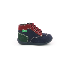Kickers BONZIP-2 NAVY RED GREEN