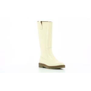 Kickers OXFORDALIER PATENT WHITE