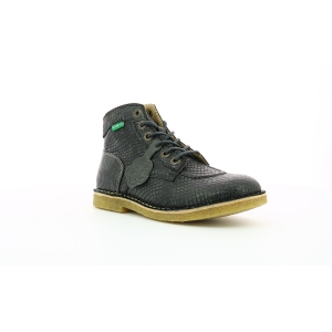 Kickers KICK LEGEND GRIS REPTILE