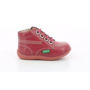 Kickers BILLYZIP-2 DARK PINK