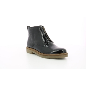 Kickers OXFORDOZIP PATENT BLACK
