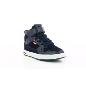 Kickers GREADY MID CDT BLEU MARINE