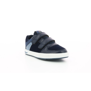 Kickers GREADY LOW CDT MARINE / BLEU CANARD