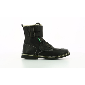 Kickers MEENELY BLACK BLACK SOLE