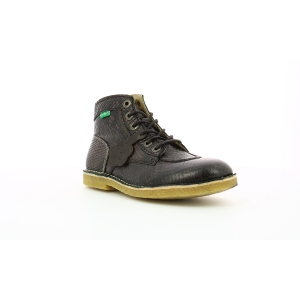 Kickers KICK LEGEND MARRON REPTILE FEMME