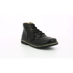 Kickers LEGENDIKNEW BLACK BLACK SOLE