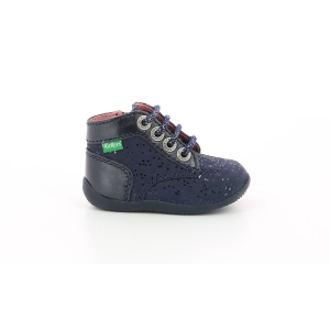 Kickers BONZIP-2 MARINE METALLIQUE