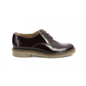 Kickers OXFORK BURGUNDY