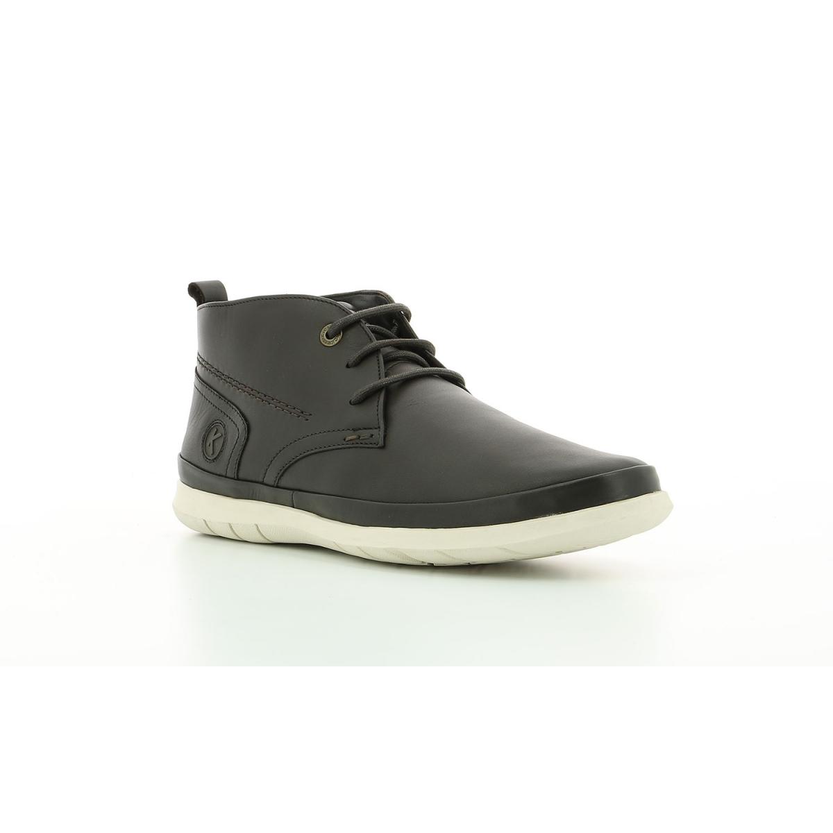 Boots Homme Layton marron foncé Chaussures Homme Kickers