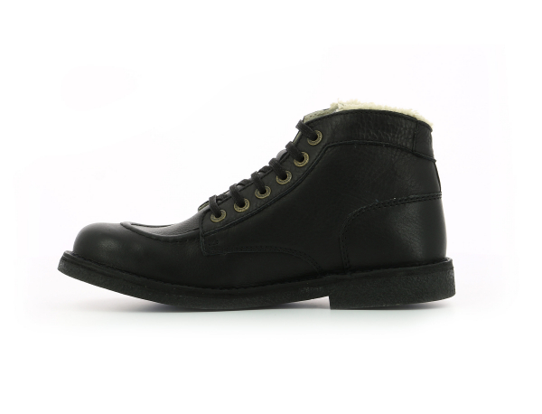 KICKSTONER BLACK BLACK SOLE