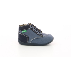 Kickers BONZIP BLEU DENIM