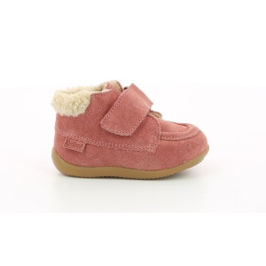 Kickers BAMBA ROSE ANTIQUE FOURRE
