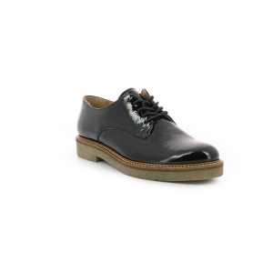 Kickers OXFORK BLACK PATENT