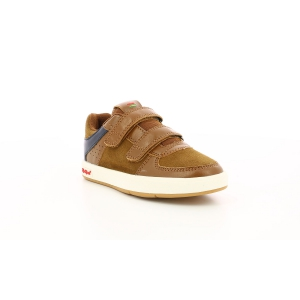 Kickers GREADY LOW CDT MARRON