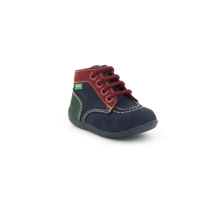 Kickers BONBON-2 NAVY RED GREEN