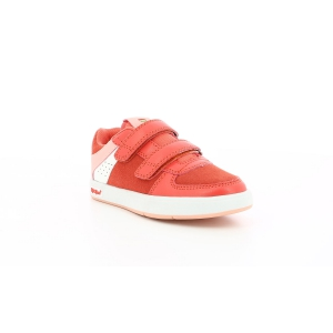 Kickers GREADY LOW CDT ROUGE / BLANC