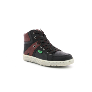 Kickers LOWELL NOIR BORDEAUX