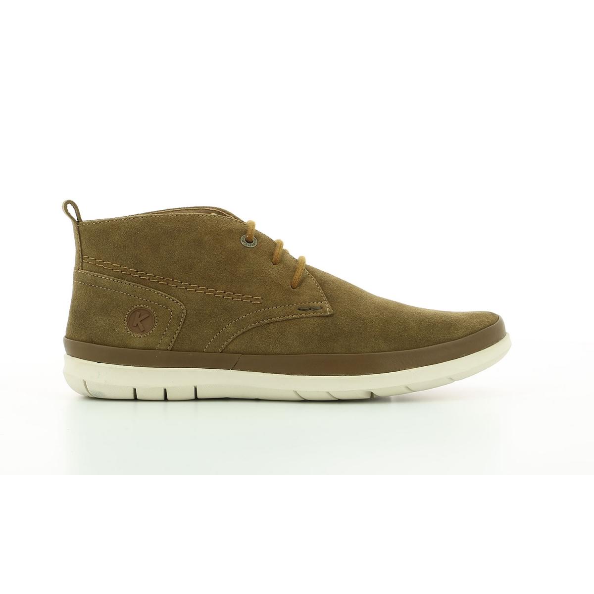 Boots Homme Layton marron kaki Chaussures Homme Kickers