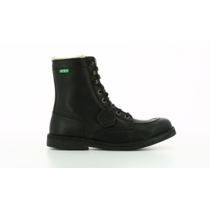 Kickers KICKSTONERY BLACK BLACK SOLE