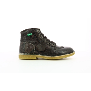 Kickers KICK LEGEND MARRON REPTILE
