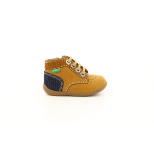Kickers BONZIP-2 JAUNE MOUTARDE