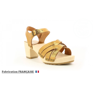 Kickers SATINE VIEIL OR