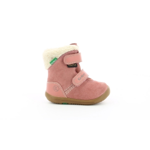 Kickers KIRI IMPERMEABLE ROSE SUEDE
